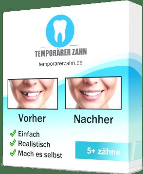 Bestellen Sie Ihren temporären Zahn